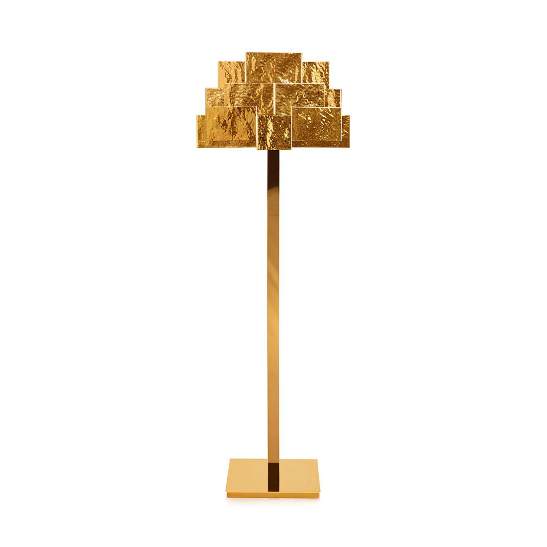 Inspiring Trees floor lamp InsidherLand brass lighting