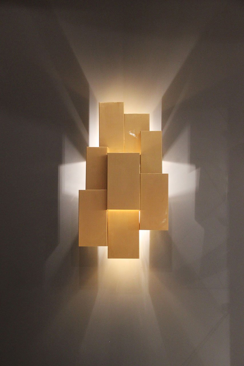 INSIDHERLAND Ambiences Inspiring Trees wall lamp brushed brass