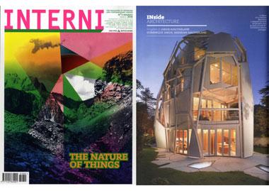 INSIDHERLAND collection luxury furniture design press clipping interni magazine italy