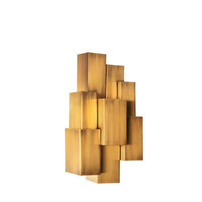 Inspiring Trees wall lamp InsidherLand brass sconce lighting nature inspired contemporary bold geometric unique exclusive decorative home decor high end residential interiors luxurious hotels