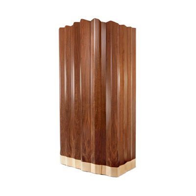 Navajo Canyon cabinet InsidherLand wood american walnut sicamore luxury monolithic sculptural materiality signature designer unique luxury statement piece art furniture home decor living dining room casegoods storage