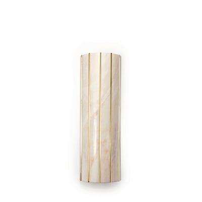 Seagram wall lamp InsidherLand estremoz marble brass sconce lighting modern modernist luxury minimalist sculptural high end distinctive architectural exclusive award-winning residential hotels European designer