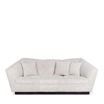 Eagle 3 seat sofa InsidherLand ebony fabric lounge sofa contemporary unique luxury iconic european designer seating upholstery furniture home decor living room