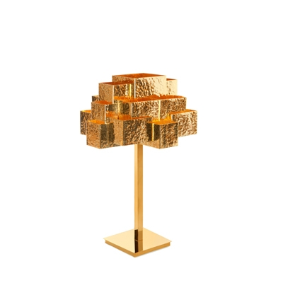 Inspiring Trees table lamp InsidherLand brass lighting