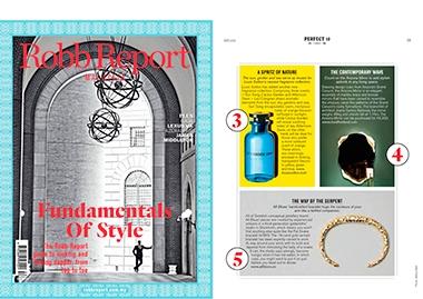 INSIDHERLAND collection luxury furniture design decor interiors press clipping magazines robb report Malasya joana santos barbosa