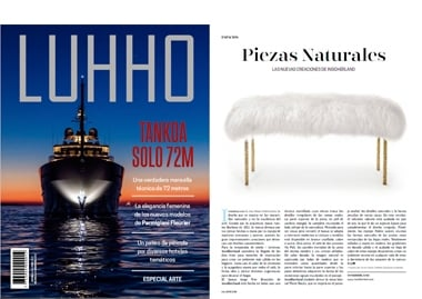 Luhho Peru InsidherLand collection luxury furniture design decor interiors press clipping magazines joana santos barbosa elle decor france italia ad architectural digest usa spain