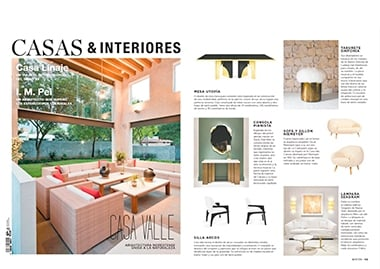 casas & interiores mexico identity collection InsidherLand collection luxury furniture design decor interiors press clipping magazines joana santos barbosa elle decor france italia ad architectural digest usa spain