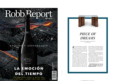robb report mexico pianist console table InsidherLand collection luxury furniture design decor interiors press clipping magazines joana santos barbosa elle decor france italia ad architectural digest usa spain