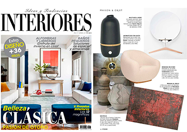 Interiores Spain Niemeyer II Mirror InsidherLand collection luxury furniture design decor interiors press clipping magazines joana santos barbosa elle decor france italia ad architectural digest usa spain
