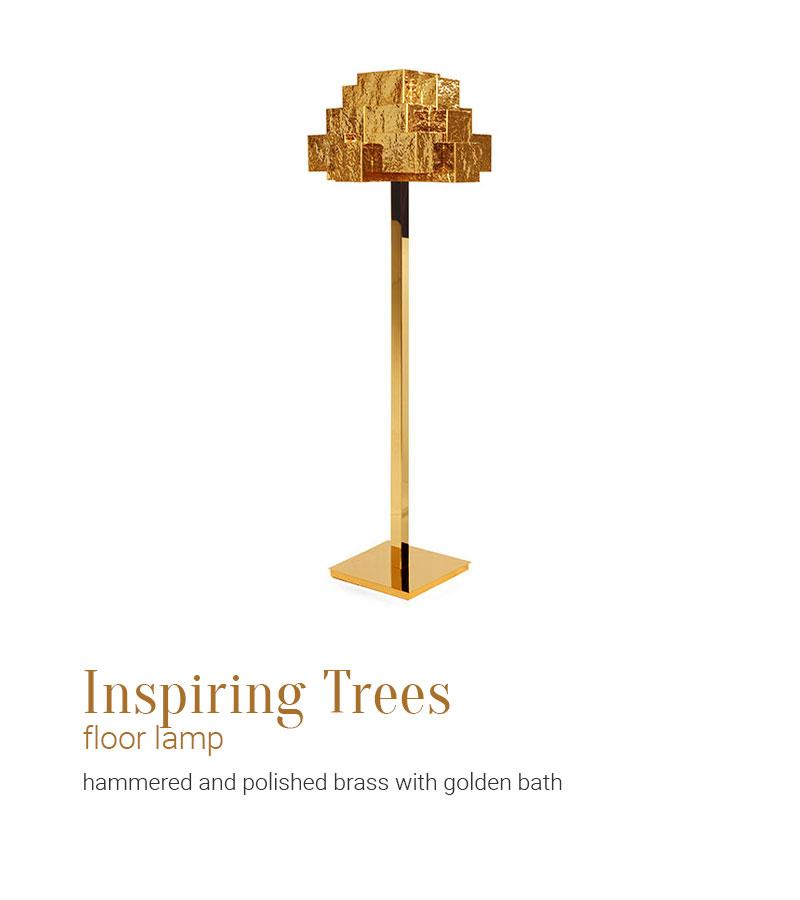 Inspiring Trees Floor Lamp