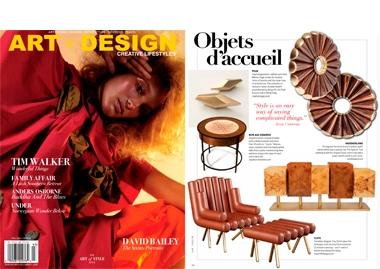 Art+Design USA The Special Tree Sideboard InsidherLand collection luxury furniture design decor interiors press clipping magazines joana santos barbosa