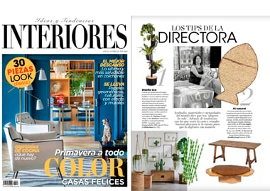 Interiores Spain Arizona Coffee Table InsidherLand collection luxury furniture design decor interiors press clipping magazines joana santos barbosa