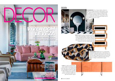 Decor Brazil Niemeyer II 2 Seat Sofa InsidherLand collection luxury furniture design decor interiors press clipping magazines joana santos barbosa